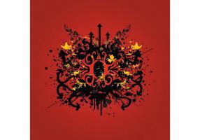 Tribal Grunge Graphics