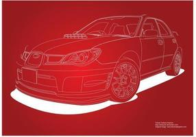 Subaru Impreza Car vector