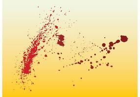 Bloed Splatters