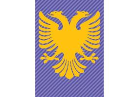 Albania-flag-double-headed-eagle
