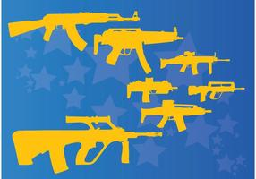 Machine-guns-and-rifles