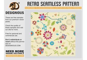 Nettes Blumen-Tapete-Muster
