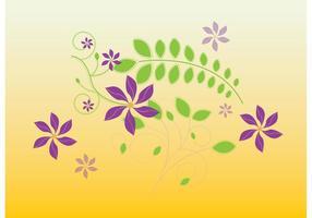 Cute Flowers Illustration