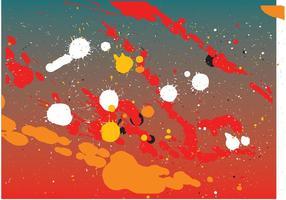 Färgstänk krig