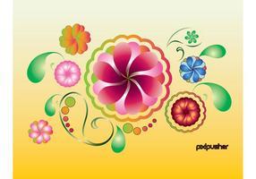 Frühlings-Sommer-Blumen