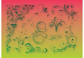 Floral Decoration Graphics