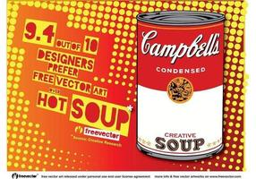 Pop-art-soup