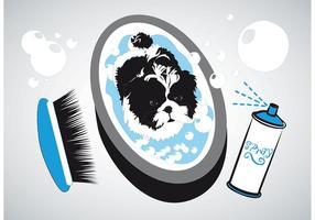 Baño para perros pequeños