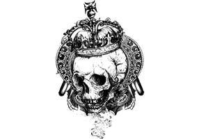 Cráneo con la corona