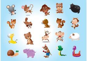 Vecteurs de personnages animaux