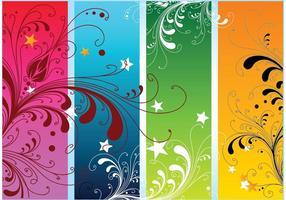 Vectores coloridos de la naturaleza