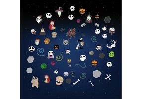 Halloween-Vektoren