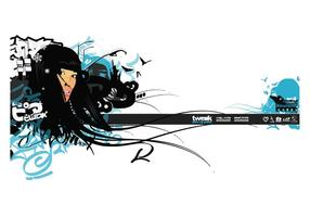 Streetstyle Graffiti Girl