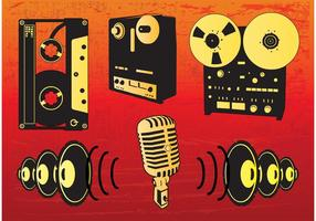 Music-vectors-set