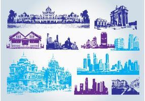 Edificios Clip Art