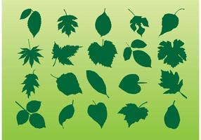 Växtbladets vektorer