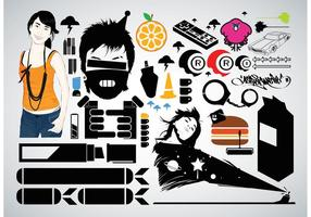 Gratis Vector Graphic Pack