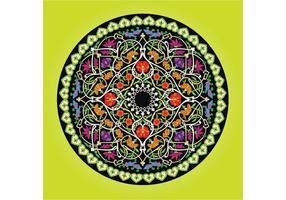 Pflanze Kreis Vektorgrafiken