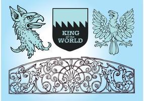 Königliche Vektorgrafiken