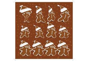 Gingerbread-man-vectors