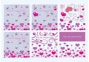 Valentine Card Vektoren