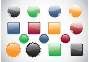 Web Botones Vectores