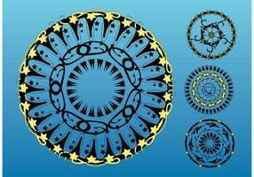 Circles Vector Art