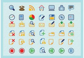 Basic Icons Vectors