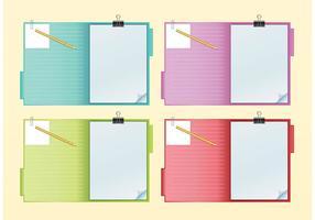 Notebook-vectors
