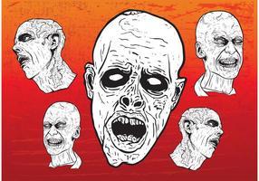 Zombie Vectores