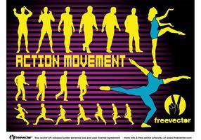 Aktion Bewegung