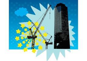 Skyscraper-building-vector