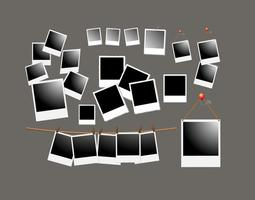Polaroid ramvektorer