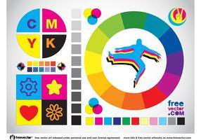 Vector de colores