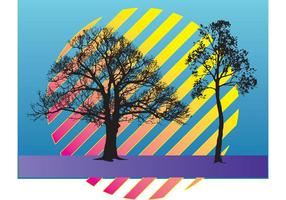 Trees Vector Illustration