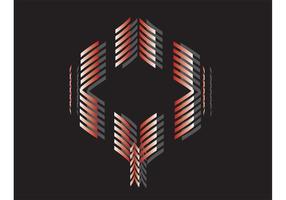 Abstrakte Form Vector