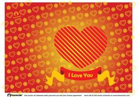 Heart Valentine Card
