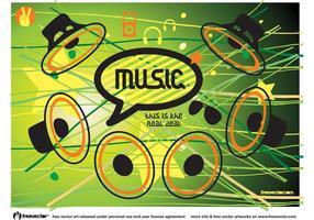 Music Speaker Vector Icons