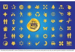 Gold Symbole