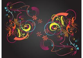 Kleurrijke Vector Grafiek