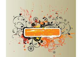 Grunge-banner-vector