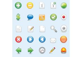 Web iconen