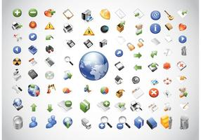 Web iconen Pack