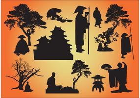 Oriental vector gráficos