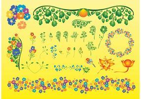 Summer-plant-vectors