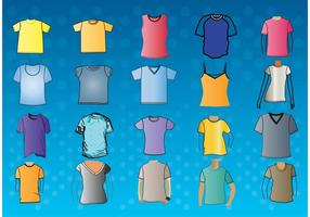 T-shirt-template-vectors