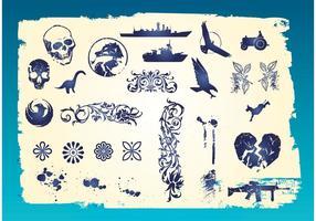 Grunge Clip Art Vectorial