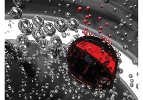 Liquid gotas de fondo