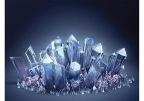 Papel de Parede de Cristal