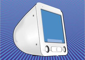 Pantalla de la computadora de Mac